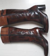 Kožne čizme, br.41