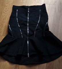 Zara zvonolika suknja s cifovima