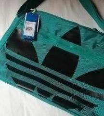Adidas tirkizna torba s etiketom