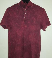 Muška polo bordo kratka majica