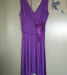 ljetna haljina s mašnom