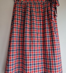 Vintage suknja na preklop