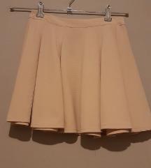 Jednobojna suknja