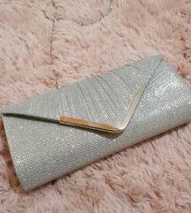Clutch torbica sa šljokicama