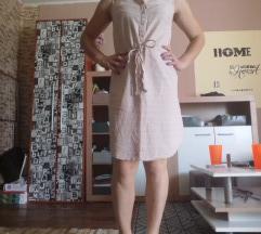 Pastelna haljina na prugice