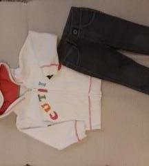 Duksa i samterice Mothercare/ Benetton 86-92