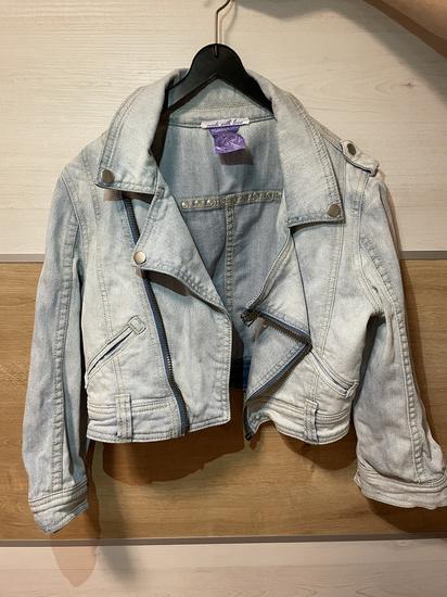 Zenska kratka jeans jakna