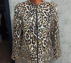 Topshop leopard jaknica