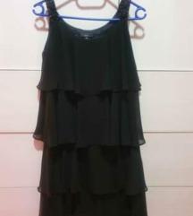 Nova crna haljina na volane