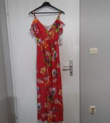 Lepršava haljina s etiketom