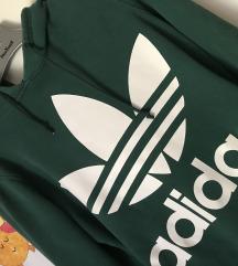 Adidas zelena duksa