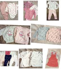 Lot odjeće za bebe djevojčice