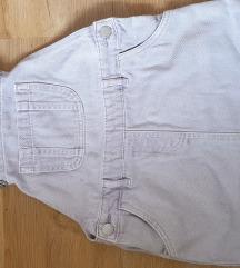 Nova Next jeans haljinica, vel.6