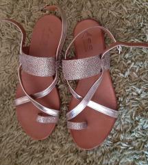 %%%% Sh.soon zlatne kozne sandale- kao nove