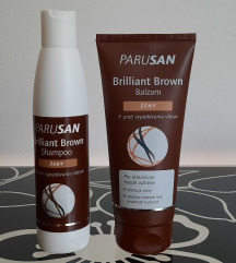 DUO set Parusan šampon i balzam za smeđu kosu