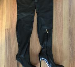 Elisabetta Franchi čizme iznad koljena 40.5 41