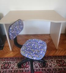 Djecji stol i stolica