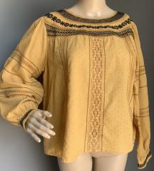 zara žuta košulja