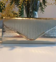 Zlatna pismo torbica