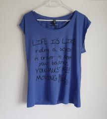 Fora majica s natpisom, 100% pamuk
