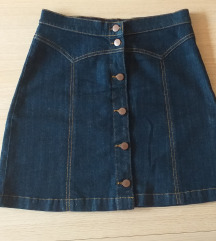 H&M jeans suknja