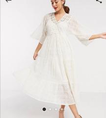 RIVER ISLAND boho lace dress