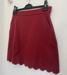 COS crvena suknja