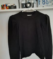 STRADIVARIUS majica s puff rukavima M/L