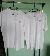 Majice bijele VELIKE 2 kom