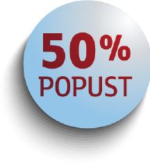 AKCIJA 50%: Sve na profilu u pola cijene