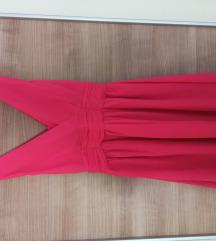 Roza ljetna haljina