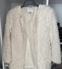 Bijela bundica-jakna