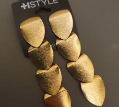 Zlatne naušnice Novo