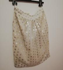 Suknja sa srebrnim točkama