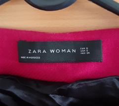 Zara ciklama kaput