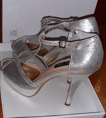 Sandale srebrne