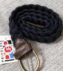Novi pleteni remen s etiketom