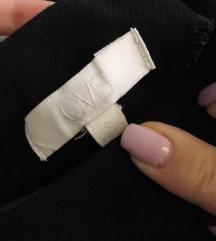 Crna haljina kratkih rukava (OVS)