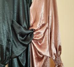 Color block haljina