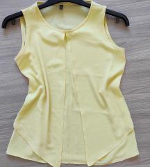 Limun žuta majica bez rukava