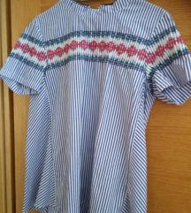 etno asimetrična bluza vel S pt. uklj.