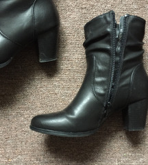 Crne čizme 39 gležnjče