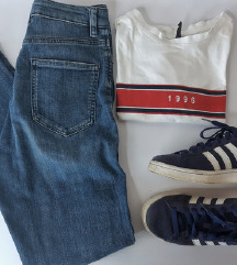 LOT - Asos traperice, majica i Adidas tenisice