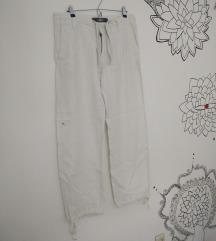 Bijele lanene hlače - PONUDITE CIJENU