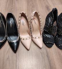 LOT -2x salonke i sandale