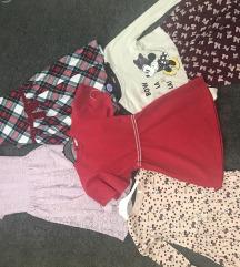 Lot haljinica za djevojčice