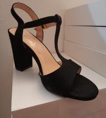 Sandale crne 37