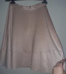 RESERVED roza suknja
