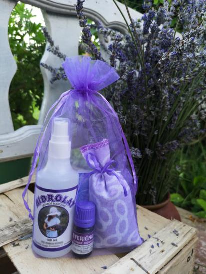 Suveniri/pokloni prirodnih proizvoda od lavande