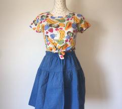 Vintage suknja • P&B crop top